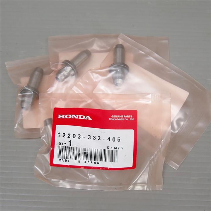 CB400F 純正 エキゾーストバルブガイド 4つセット 12203-333-405