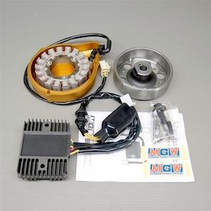 CB1100R SC05/SC08 社外 メタルギア 強化ジェネレーターキット  未使用品 ステーターコイル レギュレーター ポイントカバー セット