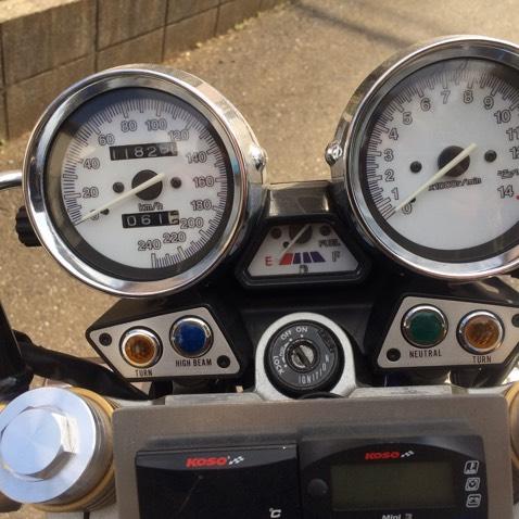 XJR400 フルカスタム FCR32