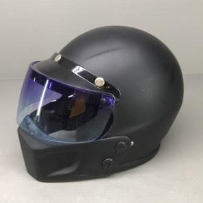 ジェットヘルメット チンガード付き だいたいLサイズ