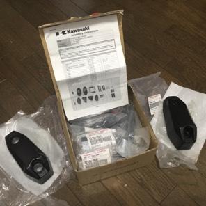 【新品】NINJA400用純正エンジンガード