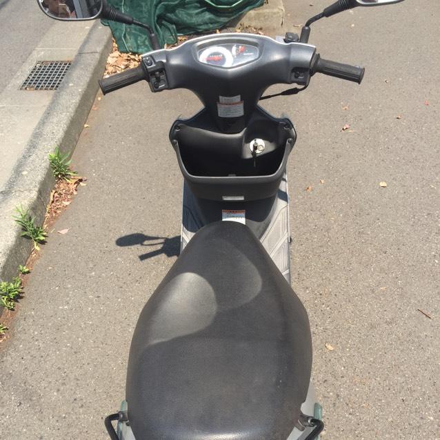 鹿児島市内 アドレスV125cc ワンオーナー車 実走行!