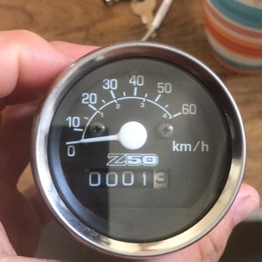 Z50 モンキー用メーター