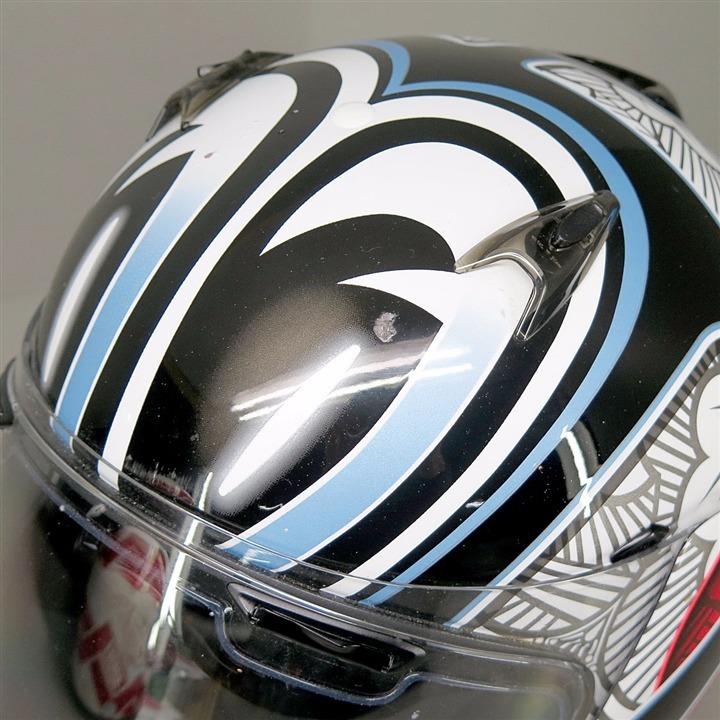 Arai QUANTAM-J NAKANO JPモデル フルフェイスヘルメット 57-58cm Mサイズ 傷あり