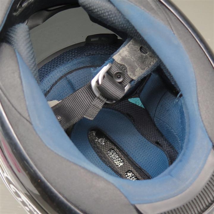 Arai RX-7RR4 フルフェイスヘルメット 57-58cm Mサイズ 白/青/黄 傷あり