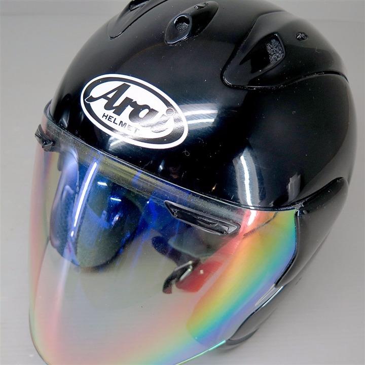 Arai SZ-Ram ジェットヘルメット 57-58cm 黒 内装要交換