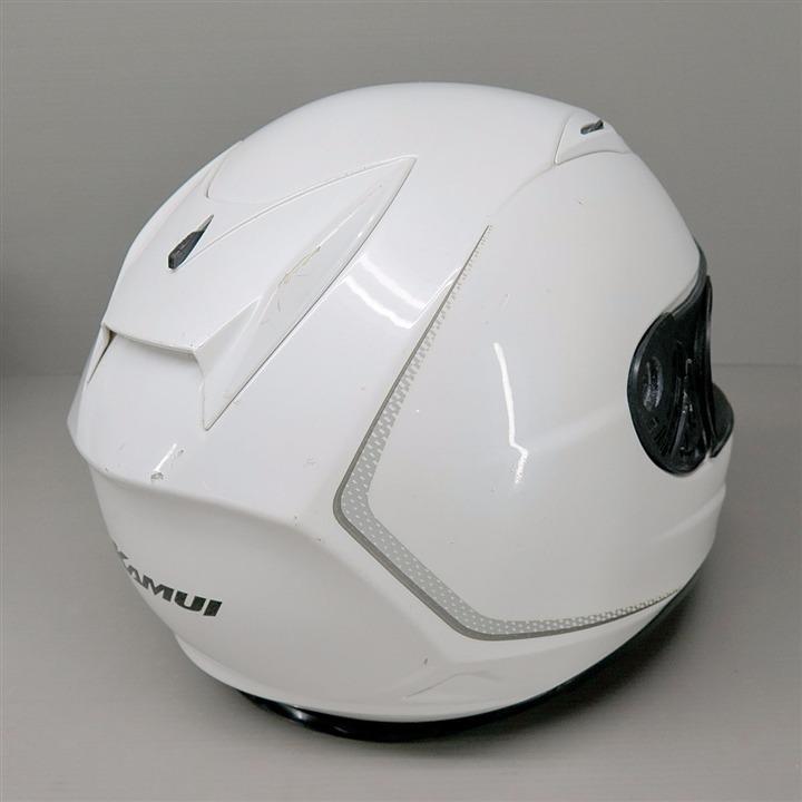 OGK Kabuto KAMUI フルフェイスヘルメット XLサイズ 白 シールドなし
