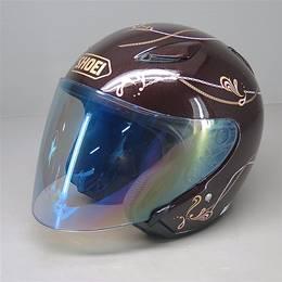SHOEI J-STREAM ジェットヘルメット Mサイズ 茶色