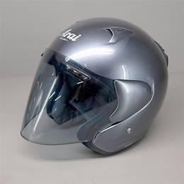 Arai SZ-F ジェットヘルメット 59-60cm Lサイズ ガンメタ 傷あり