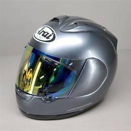 Arai RX-7RR4 フルフェイスヘルメット 59-60cm Lサイズ ガンメタ 傷あり