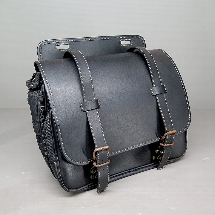 HenlyBegins アメリカンサイドバッグ 15L サドルバッグ 92382