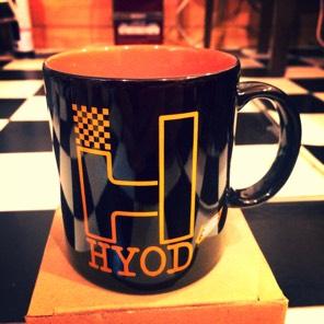 HYODチェッカーマグカップ