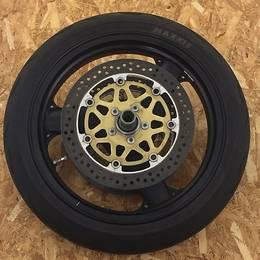 ZRX1200S(ZRT20A)純正フロント ホイール タイヤ付き