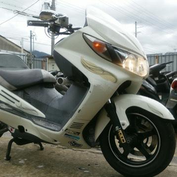 バイク SKY WAVE スカイウェイブSS! カスタム車!走行確認済み