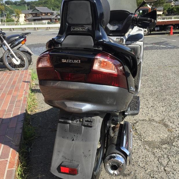 バイク スカイウェイブリミテッドモデル! CJ43A!走行確認済み