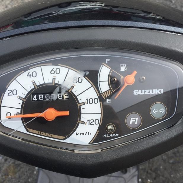 バイク 125cc アドレスV125G 走行確認済み!