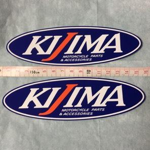 KIJIMA ステッカー2枚組