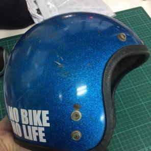 送料込 NO BIKE NO LIFE ステッカー ヘルメット、バイクに