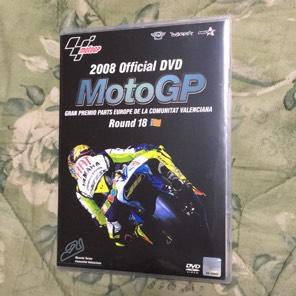 MotoGPオフィシャルDVD2008 Rd18