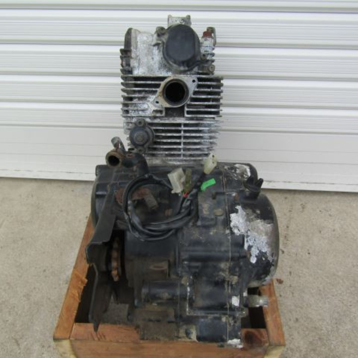 セロー225 1KH エンジン本体 クランキング確認OK!ミッション問題無し! ヤマハ 17A11