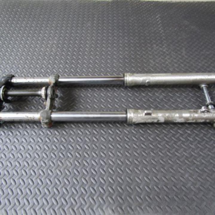 セロー225 1KH 純正フロントフォーク フォーク径36Φ トップブリッジ/ステム/アクスル ヤマハ 17A11