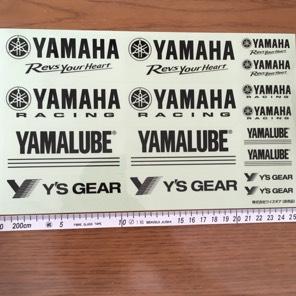 ヤマハ公式ステッカー 非売品