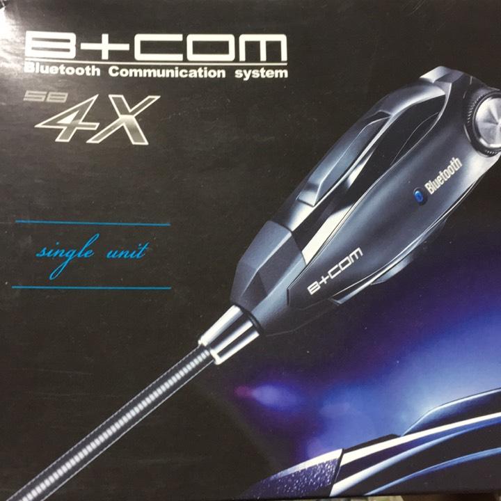 B+COM SB4X シングル Bluetoothインカム