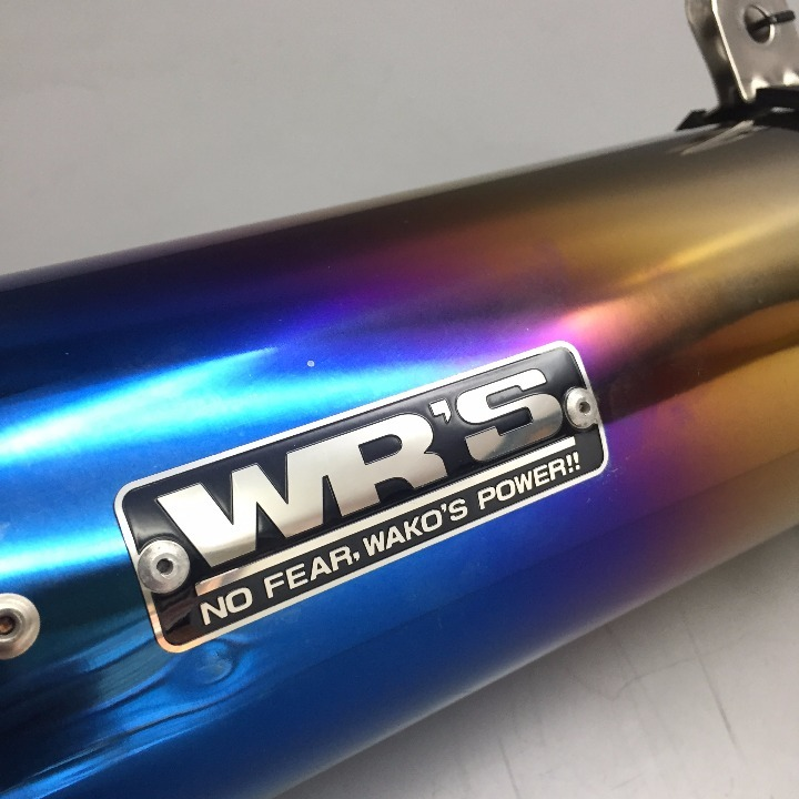 WR'S ステンレス/焼き スリップオンマフラー CB400R/400X