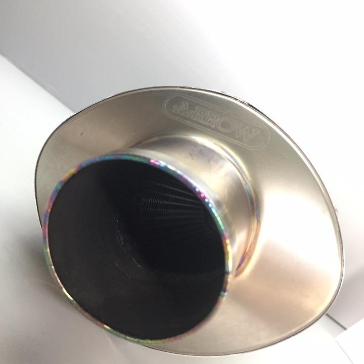 ARROW CBR600RR('08) オーバルチタンサイレンサー