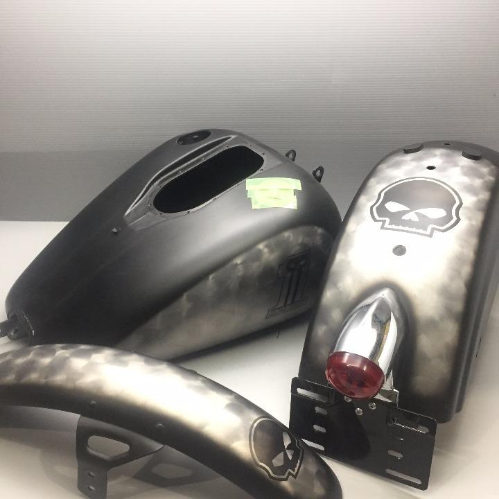 ハーレー 純正オプション 外装セット FXD(09)