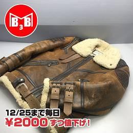 AVIREX レザージャケット ムートン サイズL