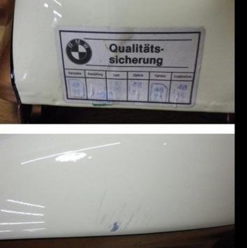 BMW 純正品◆R1200C インデペンデントタンク◆凹み、傷あり