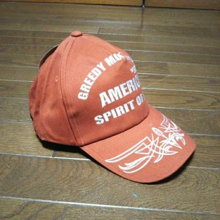 ★新品★GREEDYグリーデイ キャップ GH-14 カラー W.RED フリーサイズ