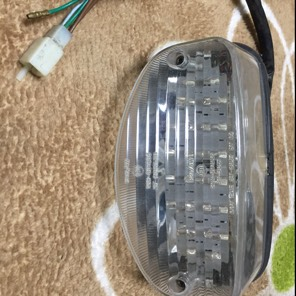 ホーネット250 LEDクリアテール