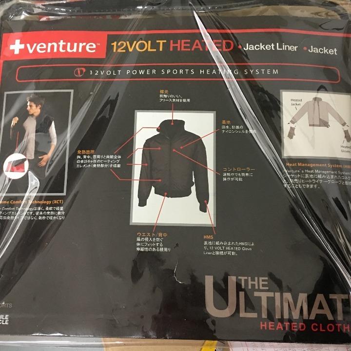 venture ヒートジャケット Sサイズ 左ポケットのボタン破損