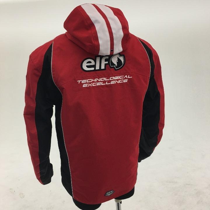 ELF ナイロンジャケット レッド LLサイズ