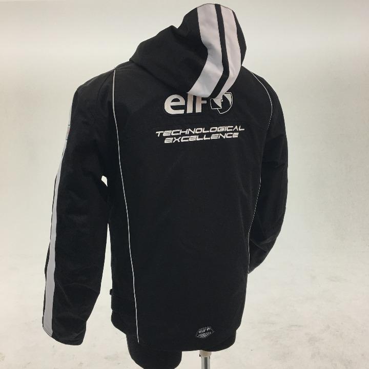 ELF ナイロンジャケット ブラック Lサイズ