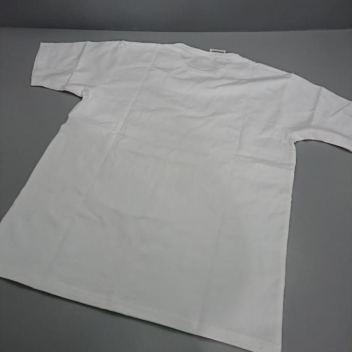 SCHOTT Tシャツ ホワイト プリント Lサイズ
