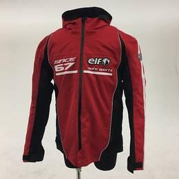 ELF ナイロンジャケット レッド LWサイズ