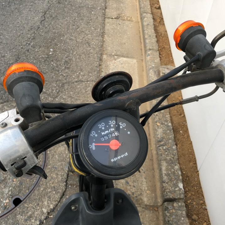 SUZUKI チョイノリSS 50cc 原付 バイク スズキ スクーター