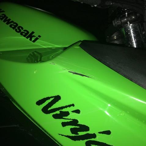Ninja250R 低走行 フェンダーレス 社外マフラー