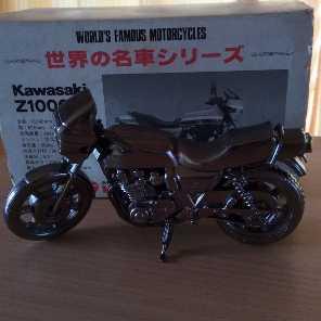 カワサキ Z1000R1置き物