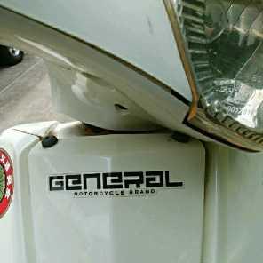 ジェネラル50(4スト)部品取り車