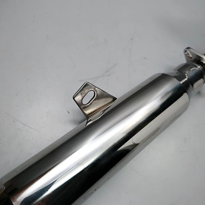 マグナ50 社外 ショート管 ステンレス製