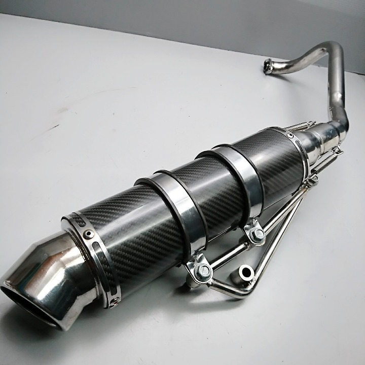 PCX125 社外 カーボンマフラー