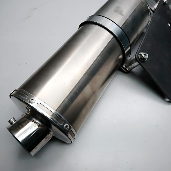 FORZA <MF06> OVER製スリップオンサイレンサー フォルツァ