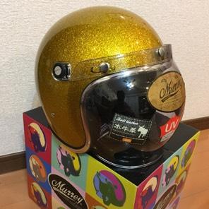 新品半額以下ジェットヘルメットMURREY 80'sテイスト