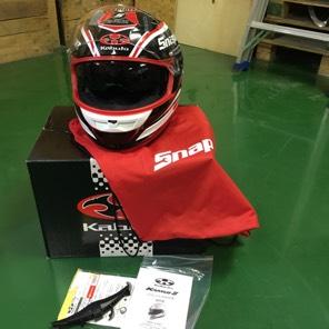 カブトヘルメット、スナップオン