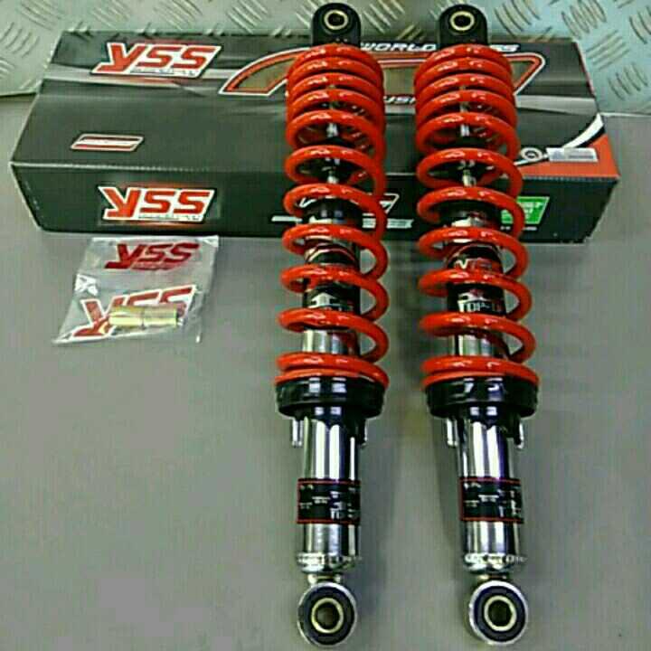 YSS 340mm リアサスペンション 赤スプリング