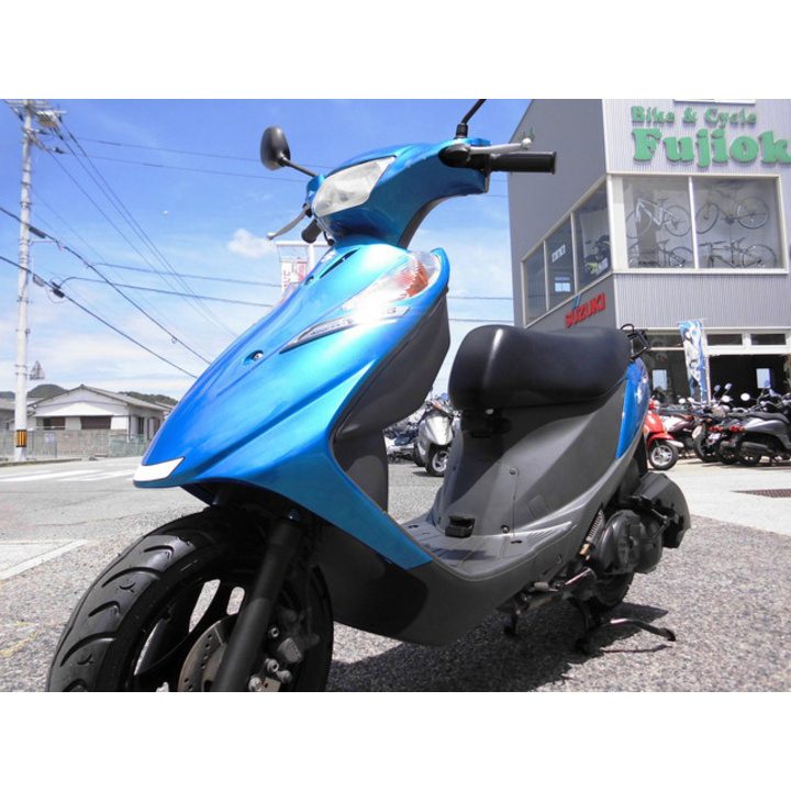 ♪徳島発♪ スズキ アドレスV125G ブルー CF46A 12289km